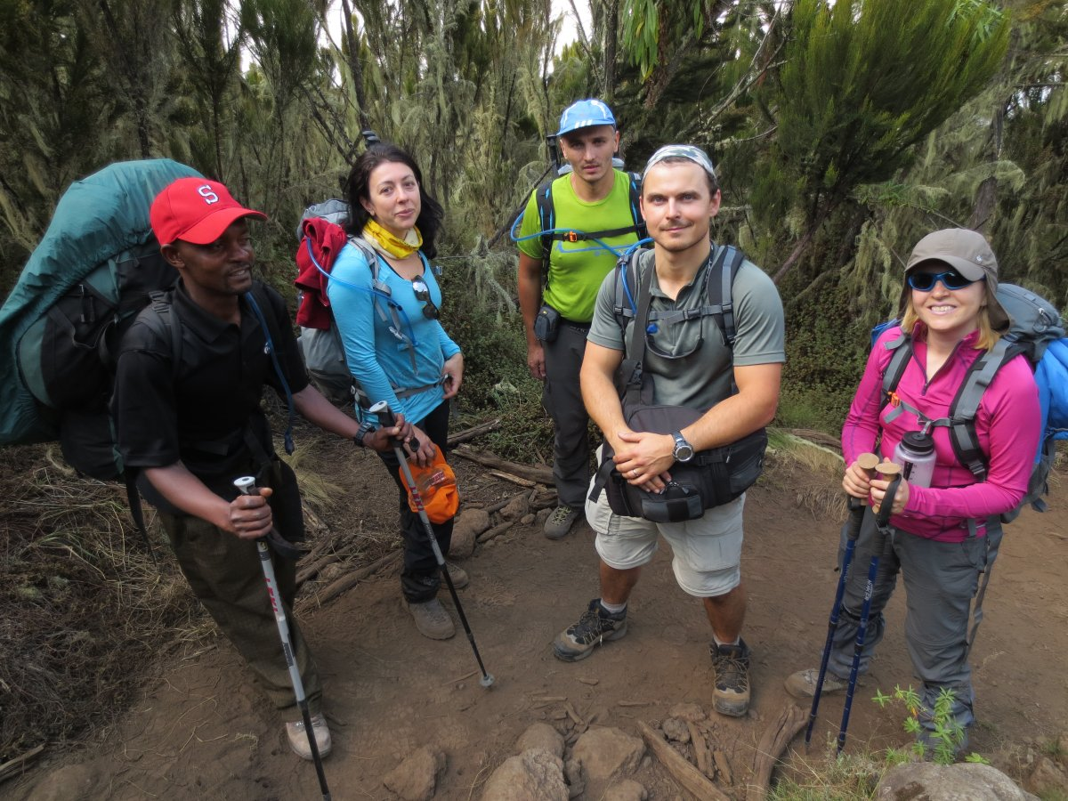 Picture of d2-Machame Camp to Shira Camp-3800m